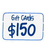 $150 Gift Cards for 750 Staff & Teachers