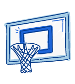 Basketball Goal Nets & Court Caulking